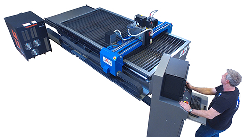 Axis Omega CNC Plasma Table